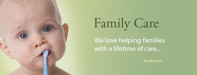 We love helping families enjoy their dental checkups